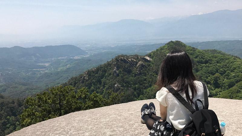 昇仙峡の弥三郎岳から楽しむパノラマビュー