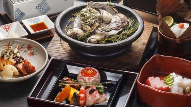 広島の風土の旬を五感で堪能できる懐石料理
