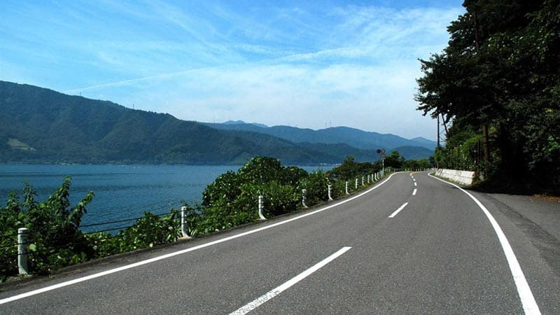 日本最大の湖、琵琶湖へ