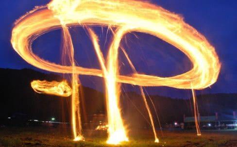 万燈の火祭り