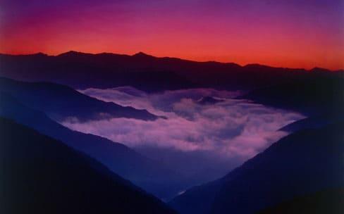 野迫川村(のせがわむら)の雲海