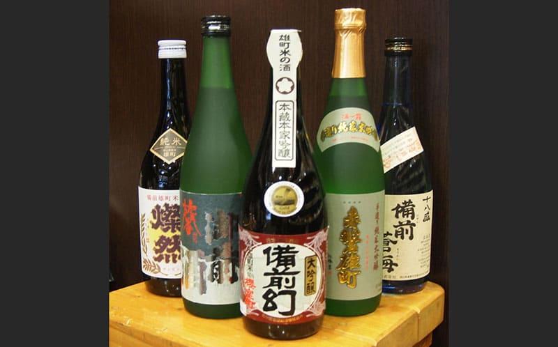 雄町米の日本酒