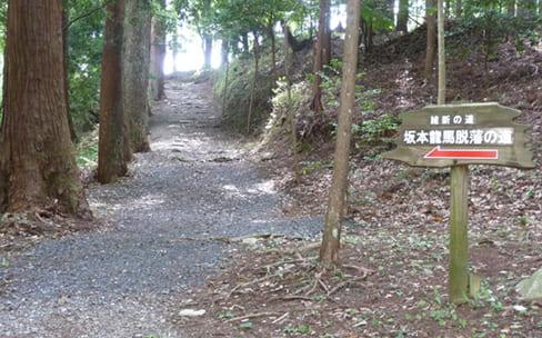 坂本龍馬脱藩の道