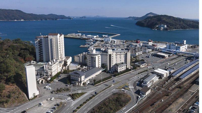 穏やかな鳥羽湾に面し絶景の眺望が楽しめる旅館