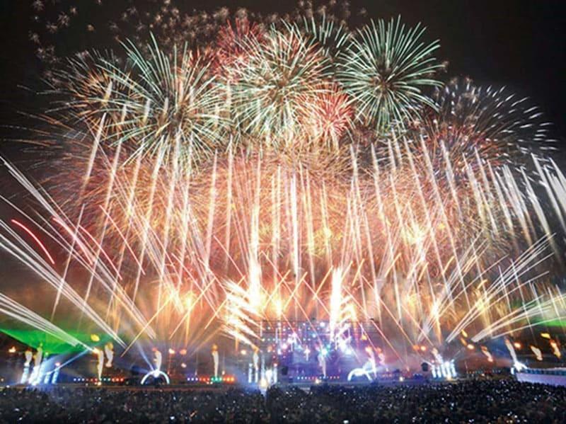 5位 勝毎(かちまい)花火大会<北海道帯広市>