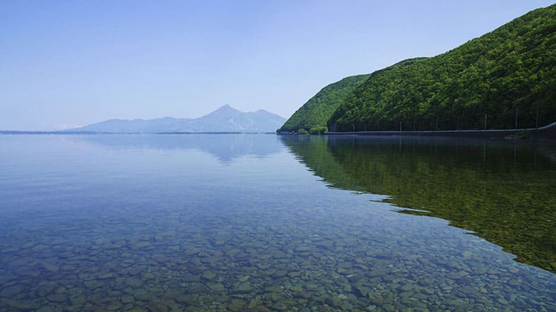 のどかな風景に癒される「猪苗代湖」