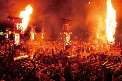 日本遺産 キリコ祭り