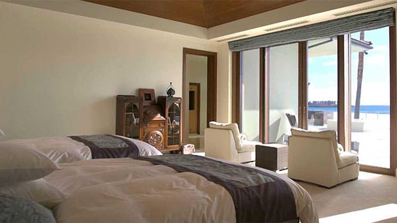 のびのびとした時間を満喫するプライベート寝室