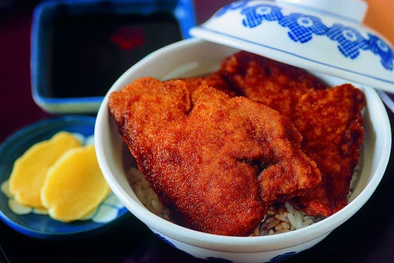 福井のカツ丼は、玉子とじなし!「ソースカツ丼」