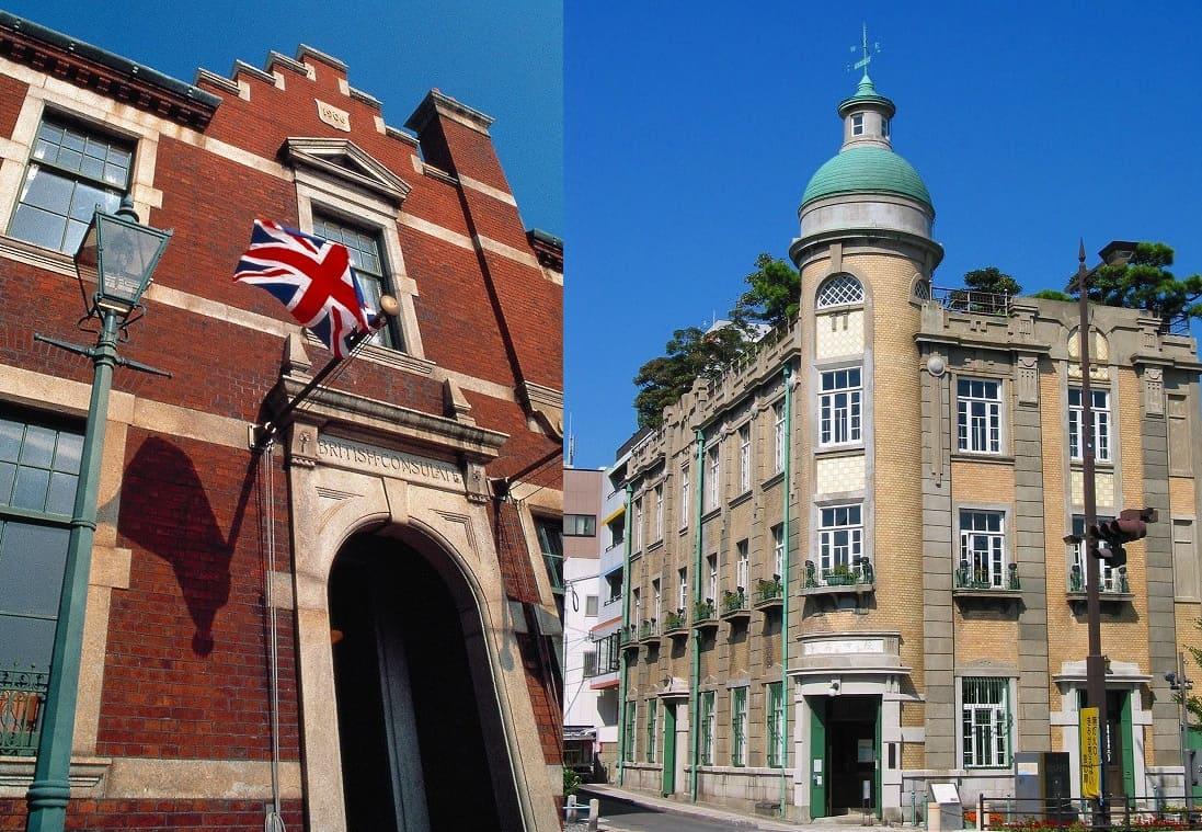 レトロな洋館めぐり「旧秋田商会ビル」「旧下関英国領事館」