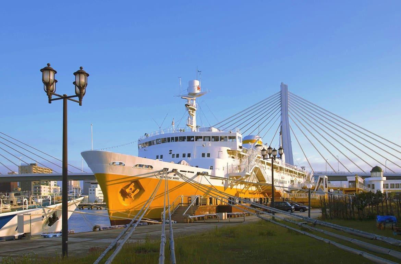 青函連絡船も停泊する「青森ウォーターフロントエリア」