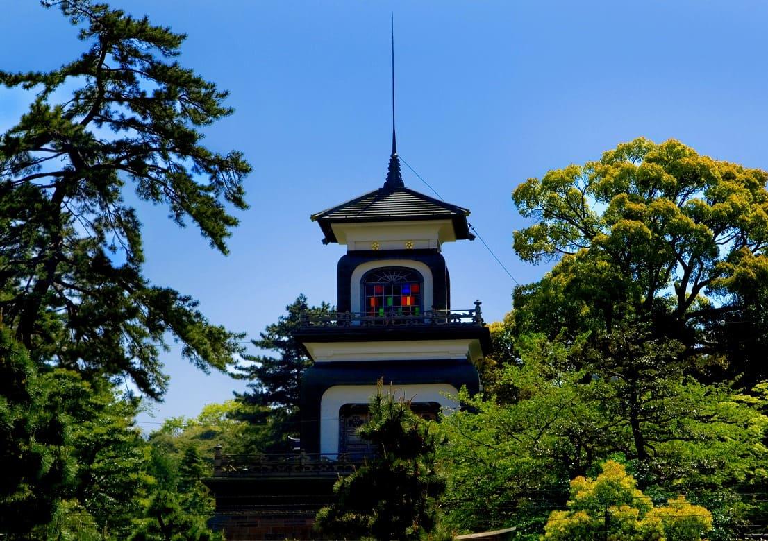 ギヤマンにうっとり「尾山神社のライトアップ」