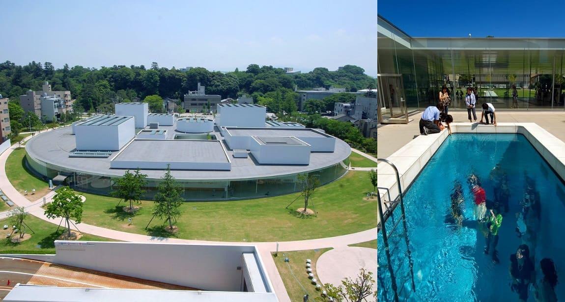 レアンドロのプールは必見「金沢21世紀美術館」