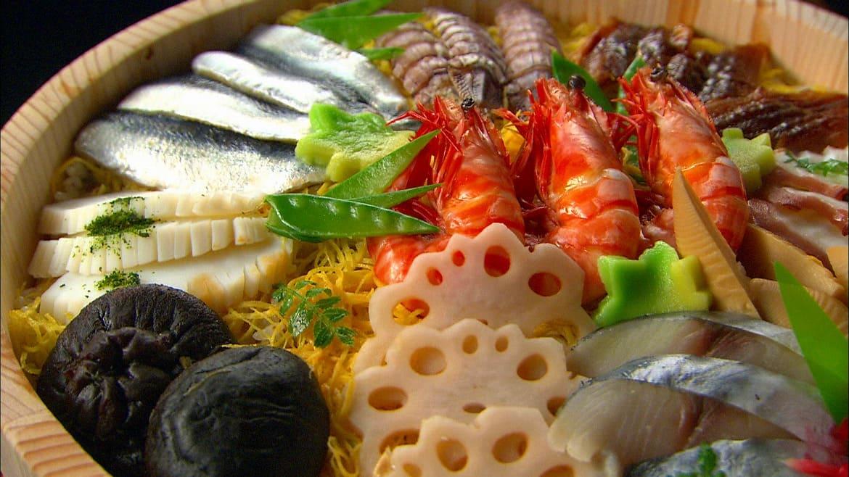 倹約令から生まれた豪華な味!「ばら寿司」