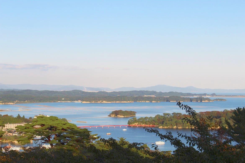 日本三景の松島を高台から一望!