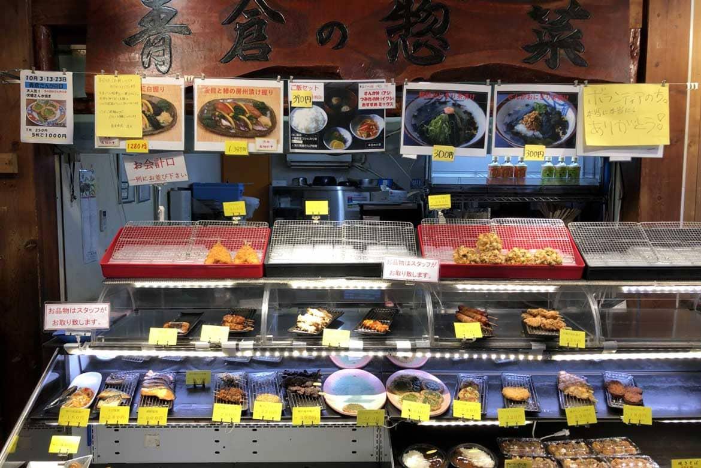お惣菜の種類が豊富! ハイウェイオアシスからも行ける道の駅