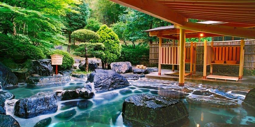 日本三古泉のひとつ「いわき湯本温泉郷」