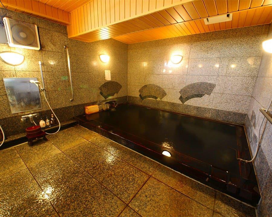 都内第一号に認定された天然温泉「鴎外温泉」