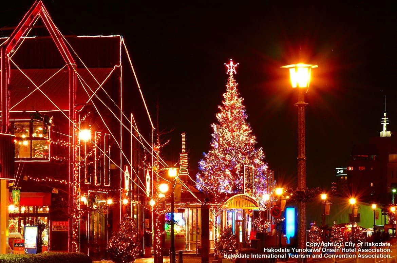 クリスマス期間は「はこだてクリスマスファンタジー」も!