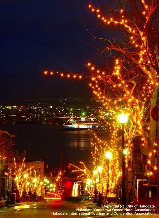 函館が光り輝く!「はこだて冬フェスティバル」