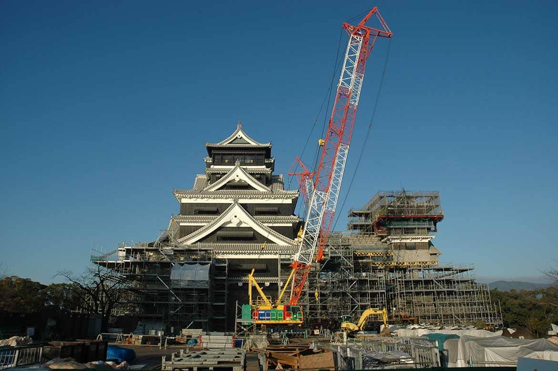 2カ月で10万人突破! 熊本城の特別公開は必見