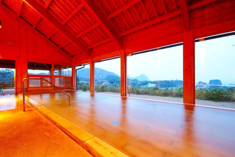 京都府内で源泉数は最多!温泉も自慢です