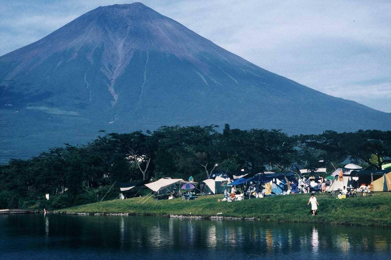 ダイアモンド富士が見られる「田貫湖」