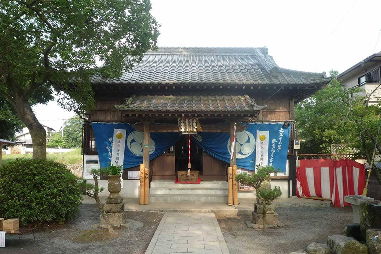 新元号にまつわる歌が詠まれた話題のスポット「坂本八幡宮」
