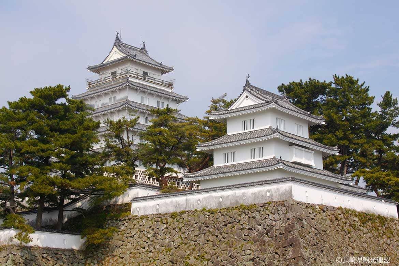 数奇な運命に翻弄された城で地元の歴史に触れる「島原城」