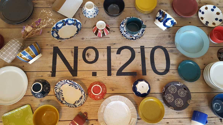 波佐見焼・藍染窯作り手のギャラリー&カフェ「No.1210 (ナンバーイチニーイチゼロ) 」