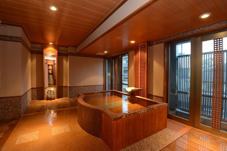 別館「ことね」には、趣の異なる6つの無料貸切風呂