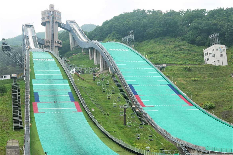 オリンピックの記憶を刻む「白馬ジャンプ競技場」