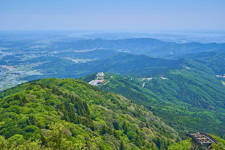 関東平野を一望するパワースポット「筑波山」