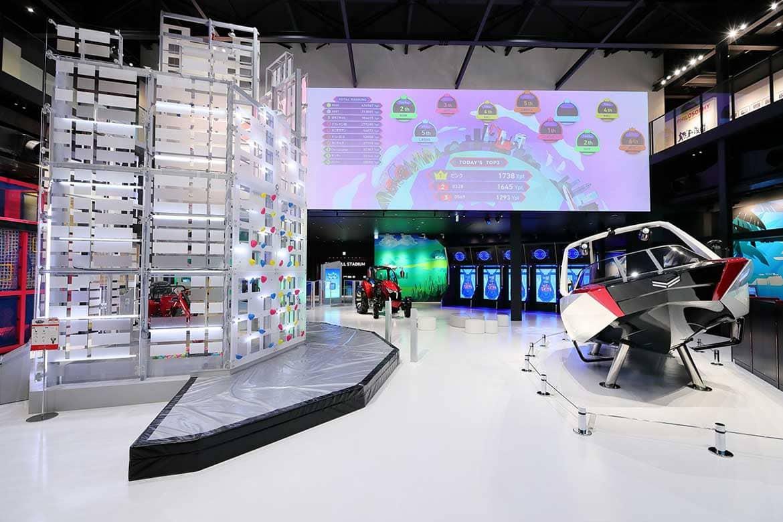 子どもから大人まで楽しめる体験型コンテンツが満載の「ヤンマーミュージアム」