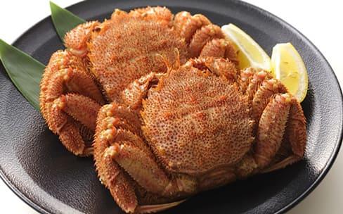 濃厚な蟹ミソを贅沢に味わう
