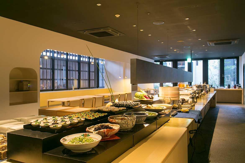 「おばんざいビュッフェ」を堪能できる!伝統の継承と再生をテーマにした「三井ガーデンホテル京都新町別邸」