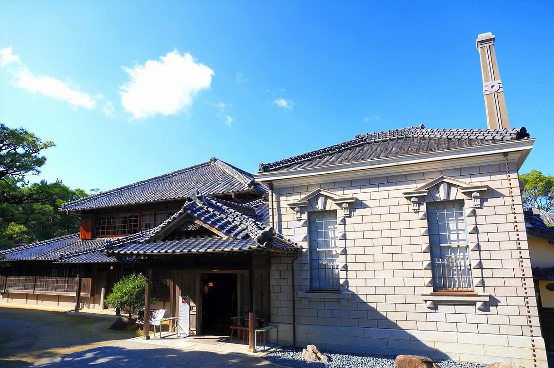 肥前の炭鉱王による和洋折衷の邸宅「旧高取邸」