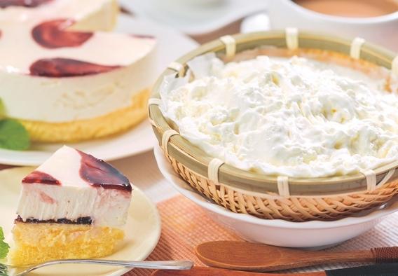 岩手県・沢菊「山ぶどうWチーズケーキ&ふわっときらら」