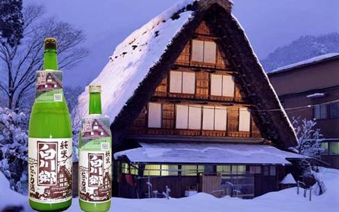 日本初の純米にごり酒