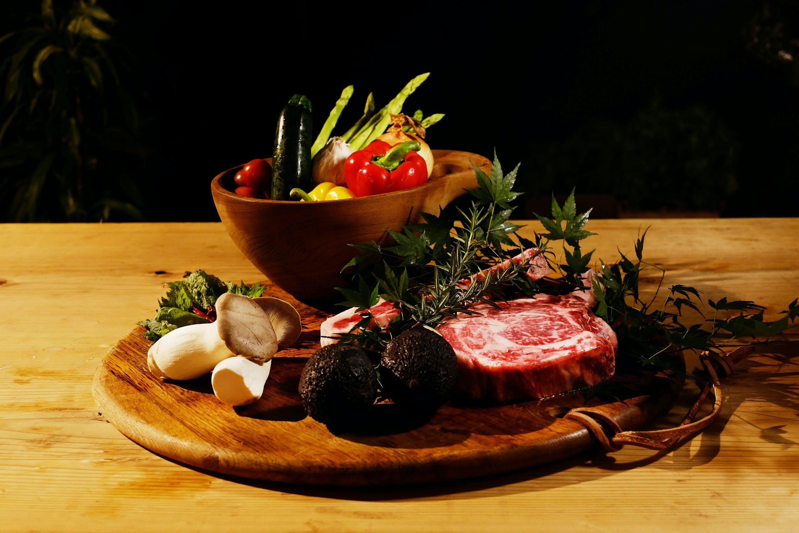 地元・上州赤城牛のステーキに舌鼓
