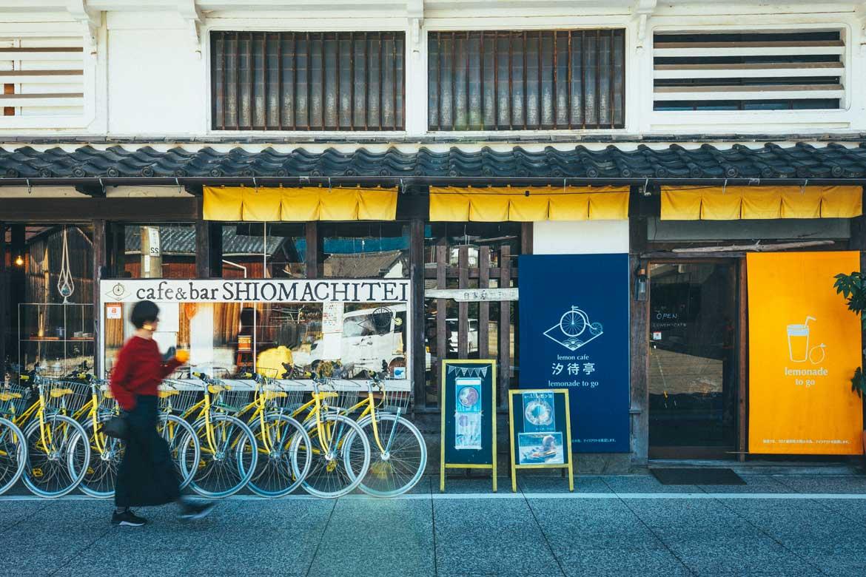 グルメ、宿、銭湯…SNSでも話題のスポットが集まる「しおまち商店街」(生口島)
