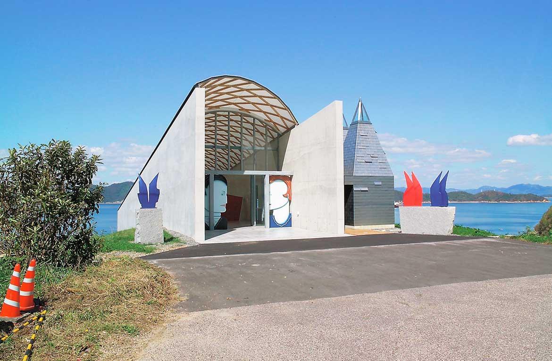 芸術の秋を満喫。世界で活躍するアーティストの作品を鑑賞できる「ところミュージアム」(大三島)